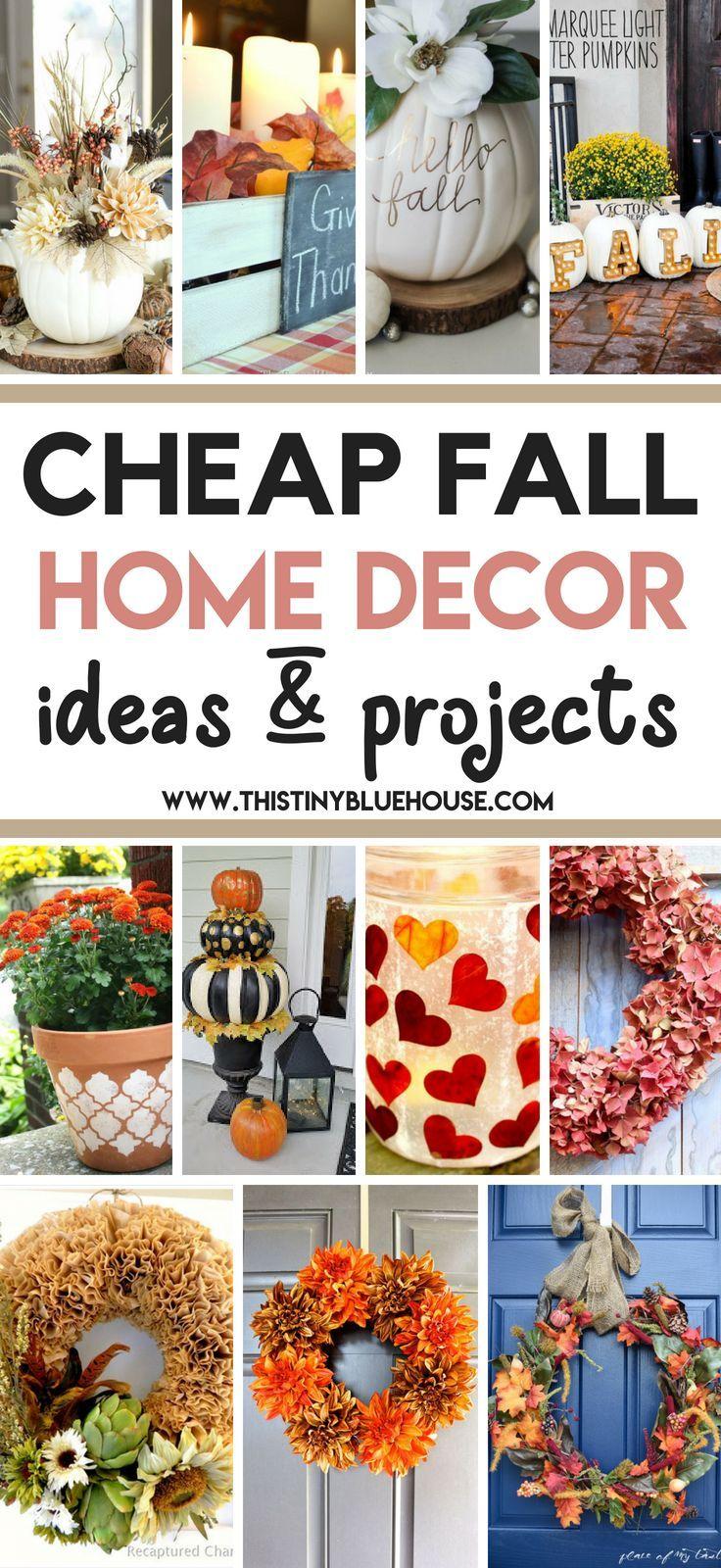 35 Stunning Dollar Store Diy Fall Decor Ideas Fall Decor Diy Fall Home Decor Fall Decor