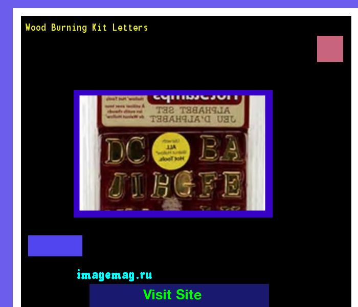 Wood Burning Kit Letters 133055 - The Best Image Search