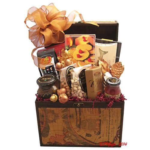 14 best chicago gift baskets images on pinterest gift basket wooden map gift box negle Gallery