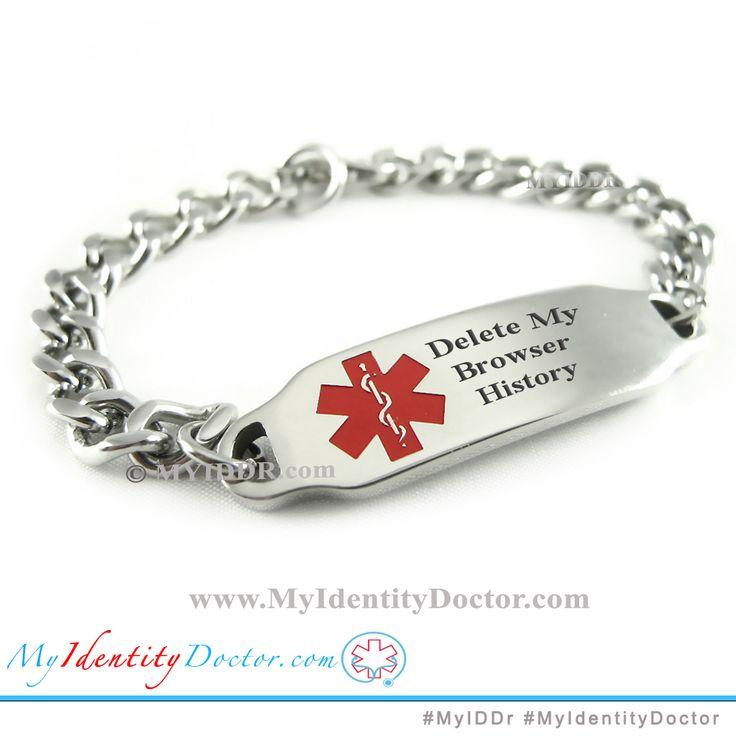4ca364e09394874ddf06a4ae30a5e727 medical alert bracelets id bracelets 9 best delete my browser history bracelets images on pinterest