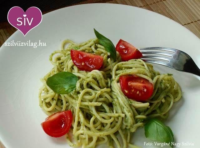 Avokádós tészta - A 10 perces avokádós spagetti - Szilvi ÍzVilág