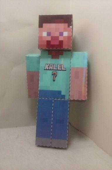 Boneco Minecraft - Steve 2