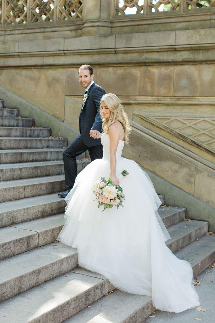 Modern New York City Wedding Wearwedding Dress