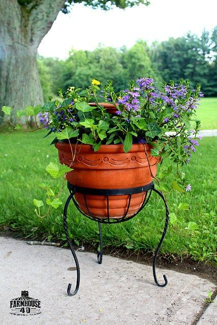 How To Make A Bird Bath Planter for your patio