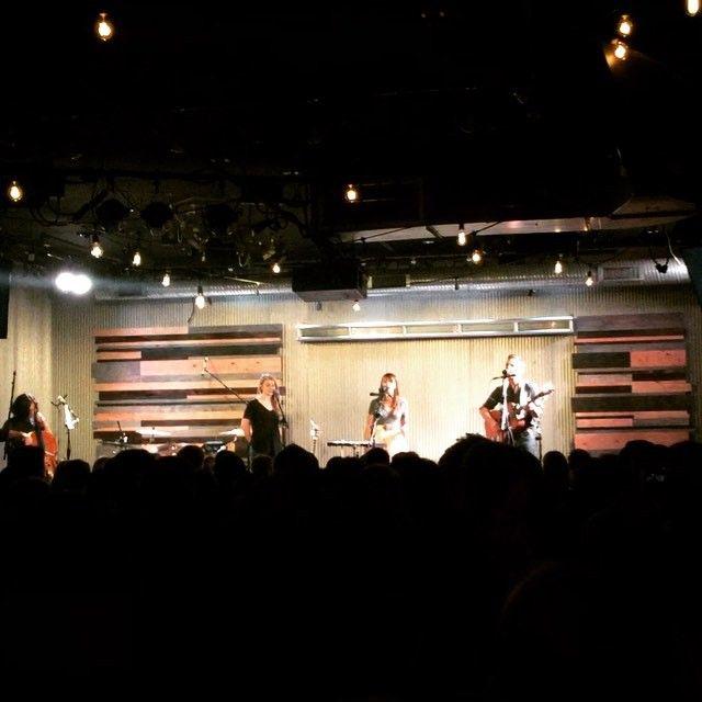 Jenny & Tyler & Jillian Edwards performed on Friday at Ebenezers Coffeehouse