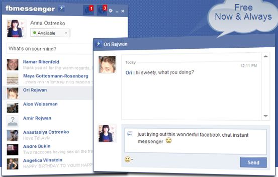 Facebook Messenger From Your Desktop