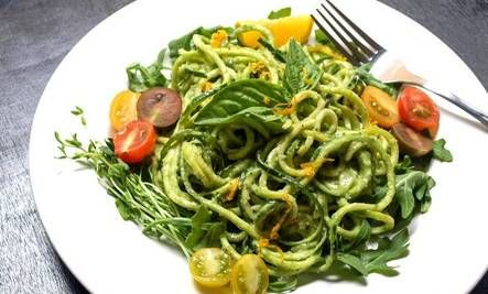 10 Fresh Vegan Recipes with Avocado: Garlic Clove, Zucchini Pasta, Avocadocucumb, Creamy Avocado Cucumber, Zucchinipasta, Raw Vegan, Vegans Recipes, Heirloom Tomatoes, Avocado Cucumber Sauces