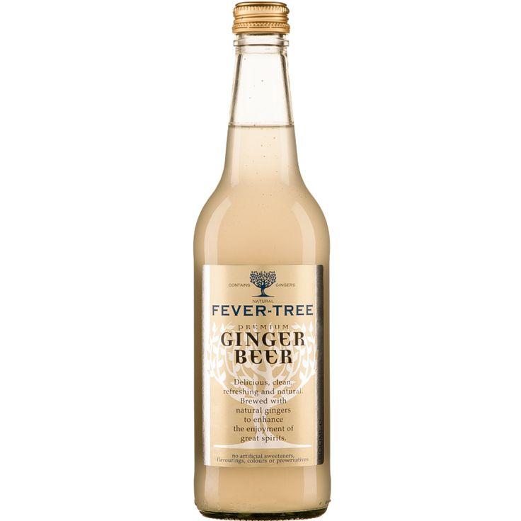 FeverTree Ginger Beer 50Cl Beer, Beer serving