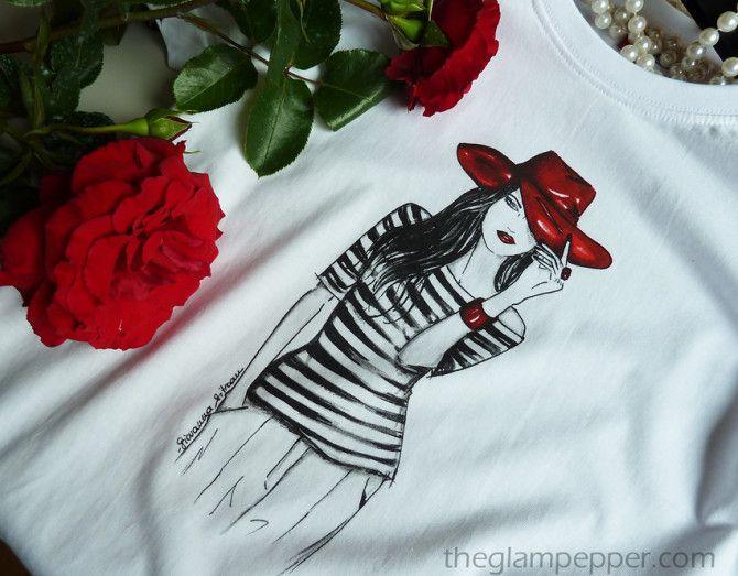 Ecco le tee-shirt con le mie illustrazioni! | http://www.theglampepper.com/2015/08/10/ecco-le-tee-shirt-con-le-mie-illustrazioni/