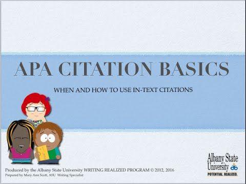 apa 6th edition dissertation template
