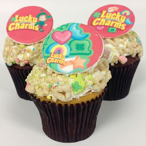 Lucky Charms cupcakes #recipe | Keep Calm, Have a Cupcake | Pinterest