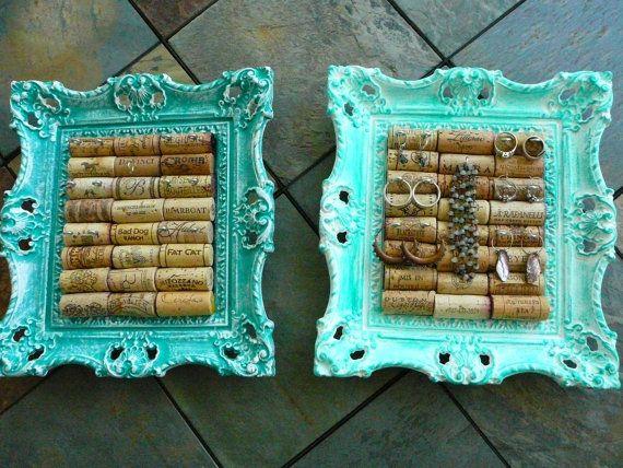 jewelry display picture wine cork