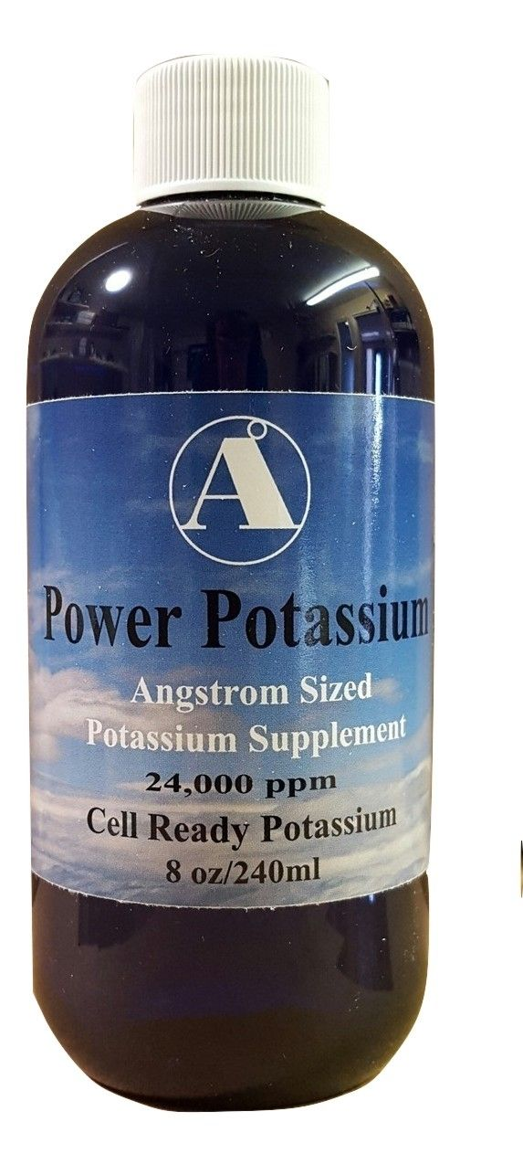 What drinks contain potassium?