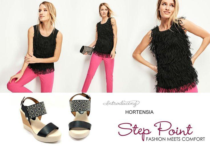 Για απαράμιλλο στυλ επιλέξτε τις δερμάτινες πλατφόρμες Hortensia και δεν θα χάσετε <3 http://www.step-point.gr/platformes-hortensia.html