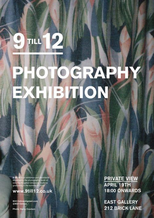 9 TILL 12 Photography Exhibition