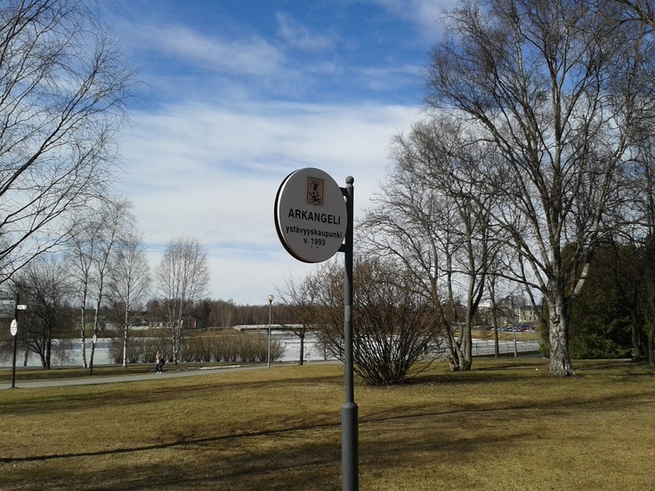Some sister city of Oulu.
