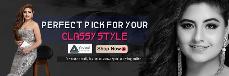 We,Crystal Sourcing is India's one of the leading manufacturers and exporter/retailers of High end fashion accessories.  We deal in products like Necklaces, Earrings, Bangles, Cuffs and Bags etc.  We are also exporting to the top best brands in USA, UK, Spain, Australia etc.