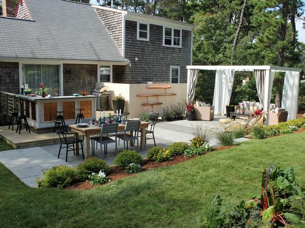 Back Yard Transformations Before and After