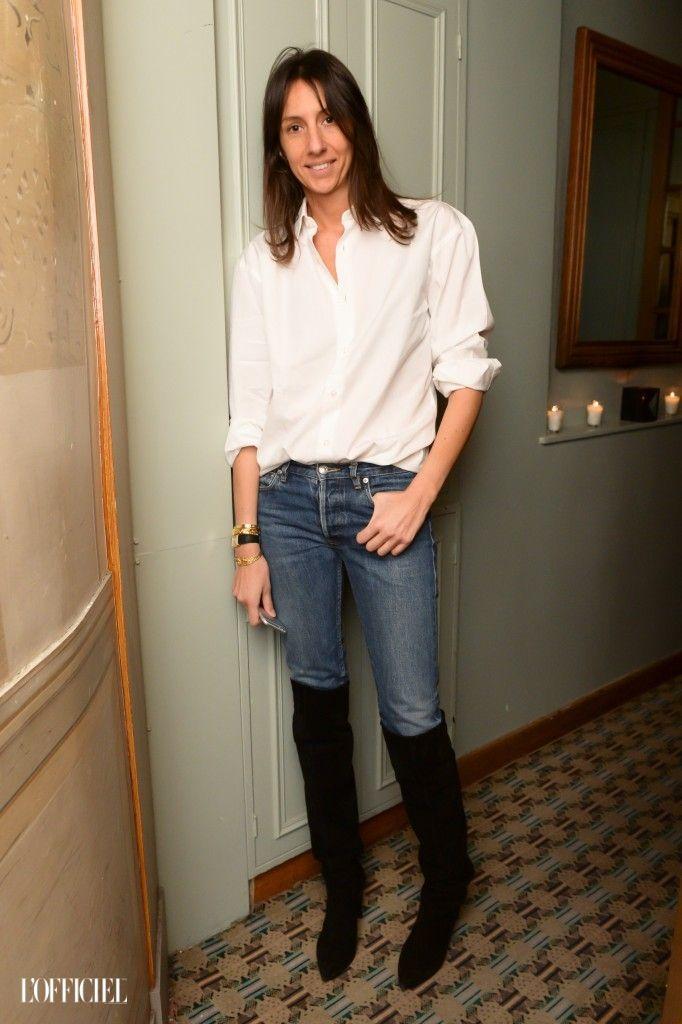 Samedi soir, en pleine Fashion Week parisienne, les deux fondateurs de la marque de jeans ultra luxeFRAME ont organisé un dîner avec un thème hollandais, chez Caviar Kaspia. La soirée...
