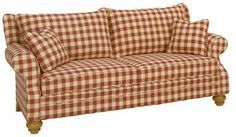 Farmhouse & Country Primitive Upholstered Furniture