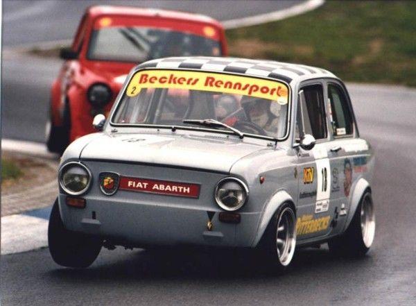 half-zero:  Fiat 850 Abarth