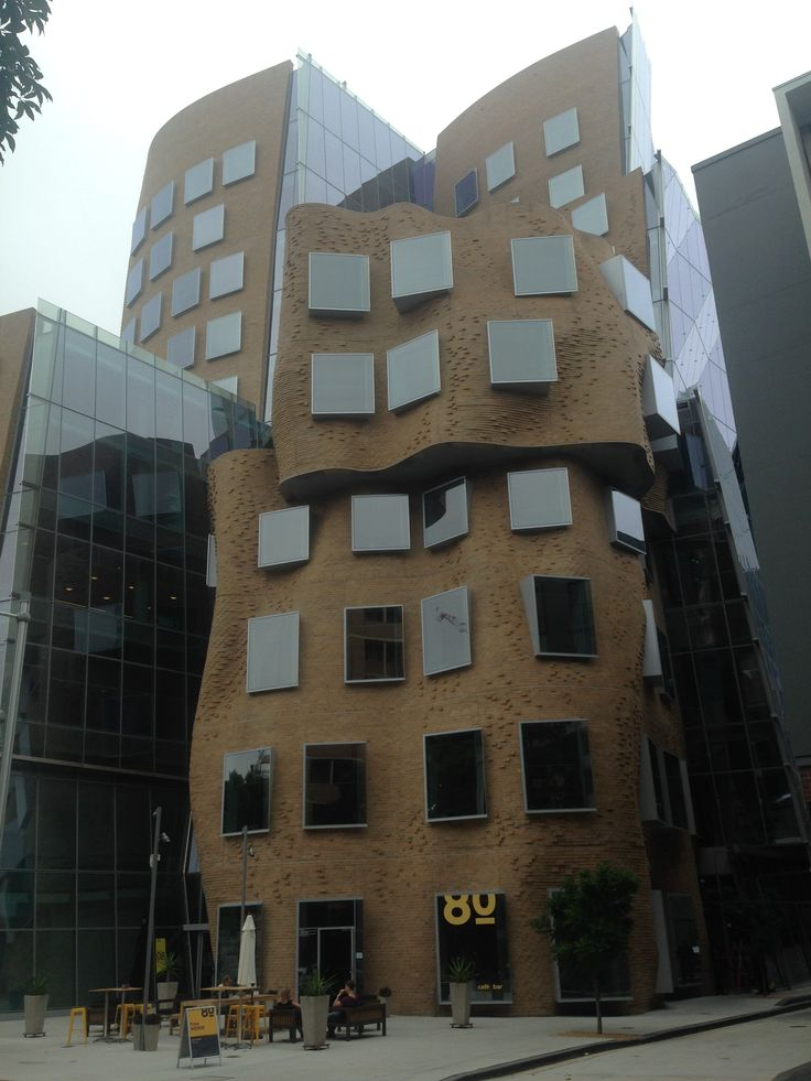 AUS Sydney Frank Gehry - Paper bag UTS