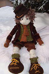 Ravelry: Lottie Doll Basic body pattern by Deena Thomson-Menard free pattern ... worsted wgt