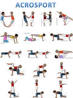 Gymnastika - dvojce