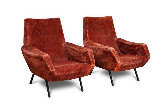 Poltrona vintage tra Gio Ponti e Zanuso - Italian Vintage Sofa