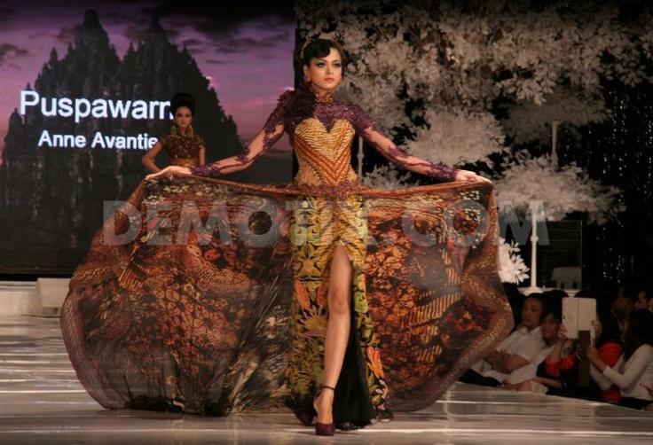 Anne Avantie fashion show Blissful Wedding. November 23rd, 2012.