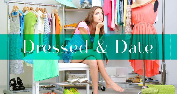 """Dressed & Date, votre complice quotidien pour répondre à la question """"Comment je m'habille"""" #application #mobile #Mode"""