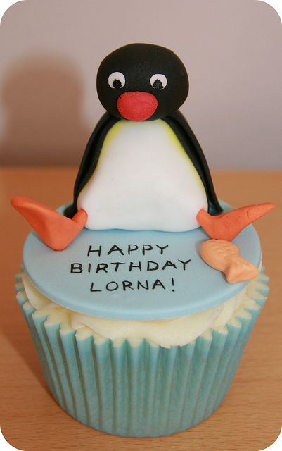 Pingu and Friends Birthday Cake by The Clever Little Cupcake Company (Amanda), via Flickr