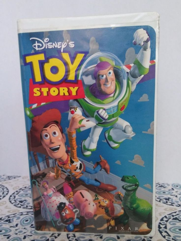 "Walt Disney Home Video Disney's ""Toy Story""  VHS Tape #6703 Pixar Tim Allen"