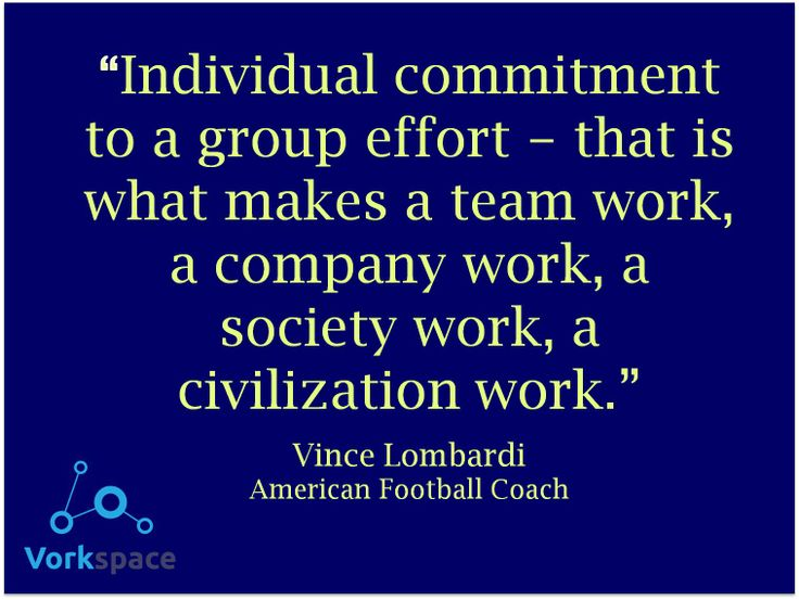 Vince Lombardi Quotes On Teamwork Quotesgram