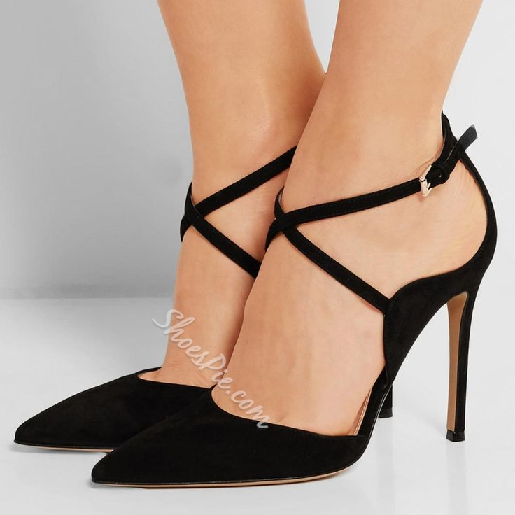 Pin these shoes Shoespie Black Strappy Pointed Stiletto Heels #Fashion, #Shoepie, #Womens http://www.fashion4shoes.com.au/shop/shoepie/shoespie-black-strappy-pointed-stiletto-heels/