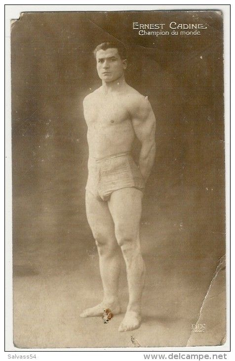 Blog de domvog51 : Bodybuilding Haltérophilie sports combats Cinéma musiques, Bodybuilding Haltérophilie jeux olympiques de 1920 rare Ernest Cadine en dernier sur cette vidéo