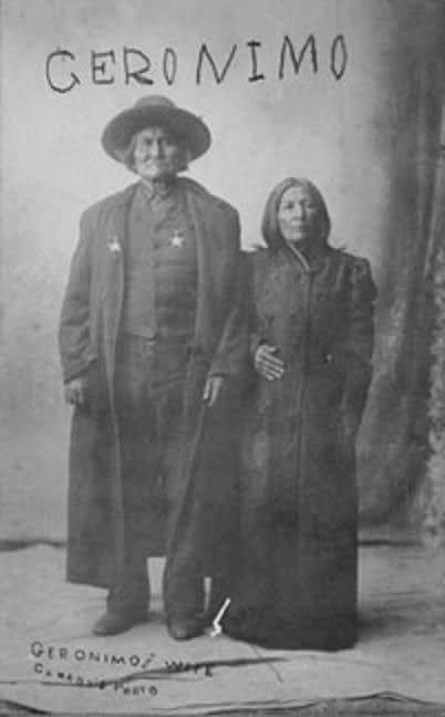 geronimo's wife -                                                                                                                                                                                 More