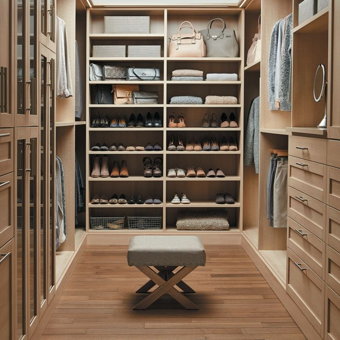 Begehbarer kleiderschrank luxus  Begehbarer Kleiderschrank System Modern | Möbelideen