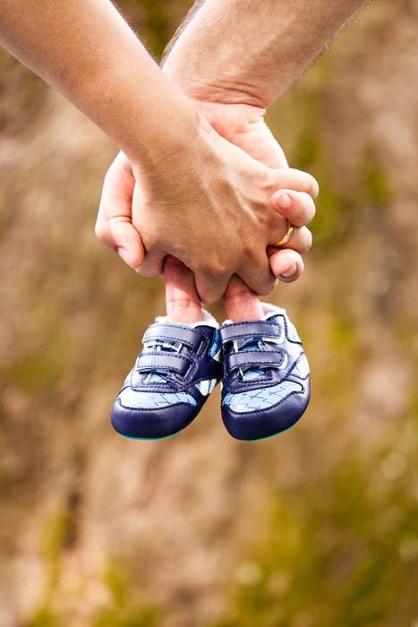 Uma maneira legal de anunciar o sexo do bebê