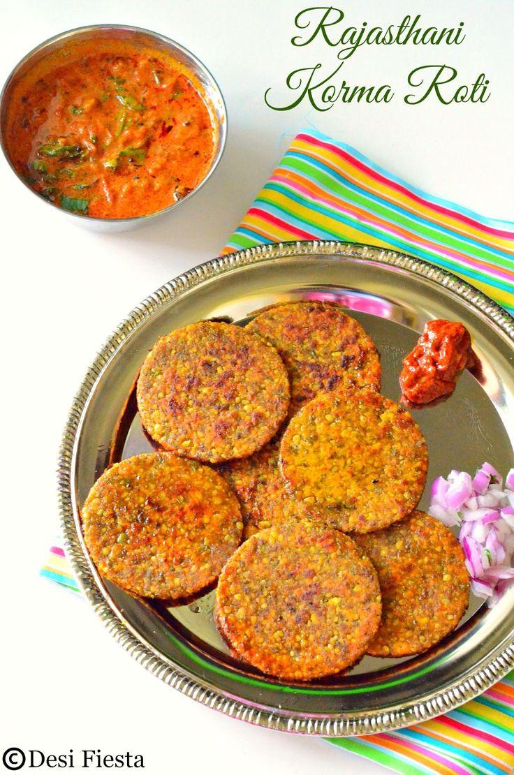 Rajasthani Korma Roti Recipe