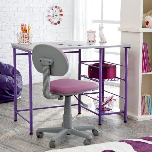 Study Zone II Desk & Chair - Purple   Jet.com