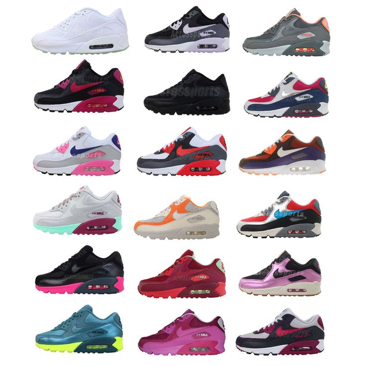 Nike Wmns Air Max 90 Womens NSW Sportswear Running Shoes Sneakers Pick 1