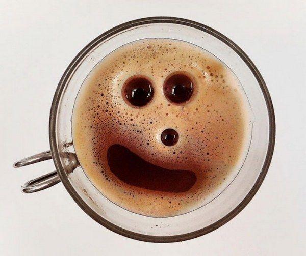 Позитивный утренний кофе