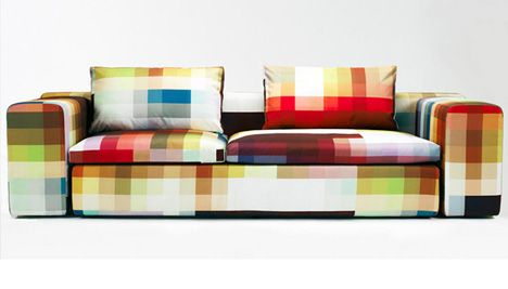 pixel couchCristian Zuzunaga, Pixel Couch, Pixel Sofas, Sofas Design, Colors, Living Room, Christian Zuzunaga, Home Decor, Furniture