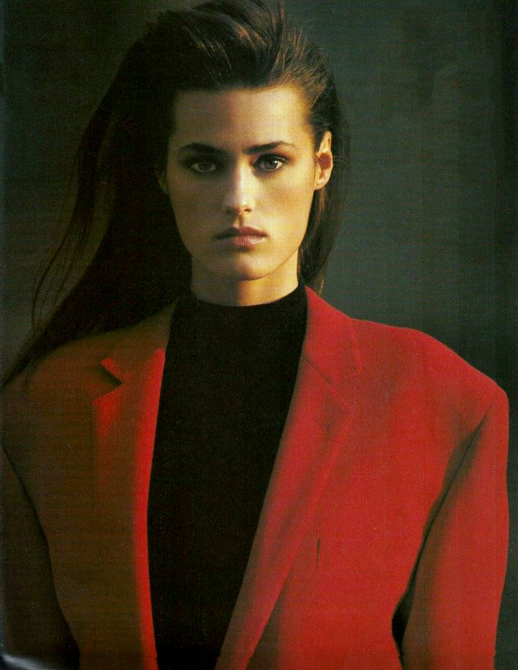 Yasmin Le Bon, Vogue UK, September 1987 Photographed by Hans Feurer Makeup by B.J Gillian Hair by Mark Garrison