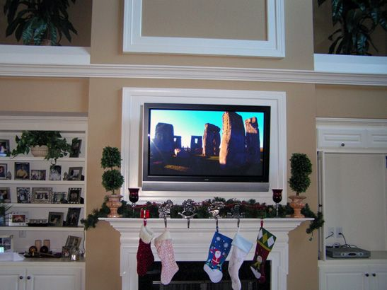 Popular 38 best TV fireplace images on Pinterest | Fire places, Mantle  BH89