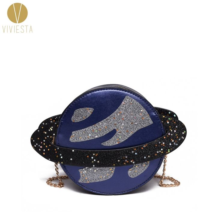 METALLIC GLITTER PLANET CROSSBODY CHAIN BAG   Women's Girls' Cute Lolita Bling Sparkling Shiny Novelty Mini Purse Bag Handbag-in Crossbody Bags from Luggage & Bags on Aliexpress.com | Alibaba Group