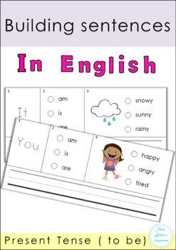 Building Sentences Set IV | TpT Language Arts Lessons | Pinterest