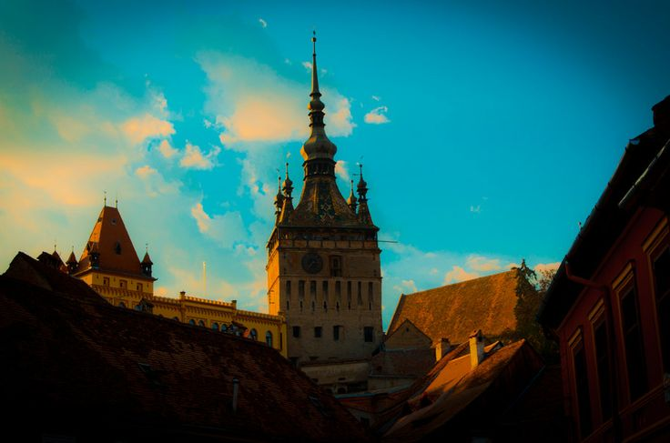 UNESCO. Historic Centre of Sighişoara - Clock Tower Sighisoara by Andrei Tudor on 500px www.romaniasfriends.com