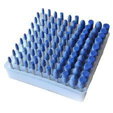 100pcs Rotary Assorted Abrasive Stone Polishing Burr Kit For Dremel Rotary Tools